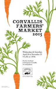 2015 Farmers' Market Poster