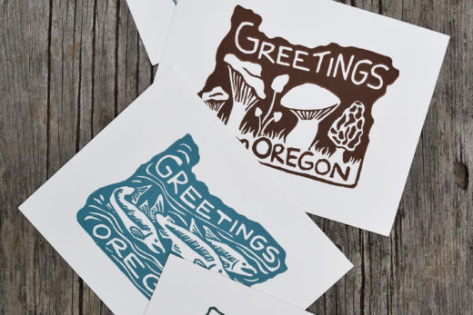 Oregon-Postcards